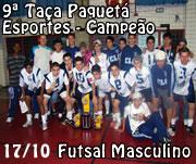 9842739138 Colégio Luterano Concórdia sagrou-se Campeão da 9ª edição da Taça Paquetá  Esportes na modalidade de Futsal Masculino. O título foi conquistado no  sábado